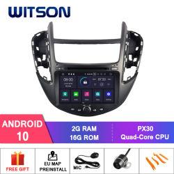 Witson Android Quad-Core 10 aluguer de DVD para GPS Cheverolet Trax cheio de saída de vídeo
