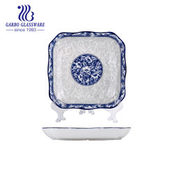 La impresión de calcomanía cerámica vajillas de cerámica plato Plato (CT23017244 HC-673)