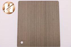 Chinesisches Edelstahl-Blatt mit buntem Pinsel Furface Nr.-4