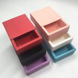 クラフト紙の引出しのギフト用の箱のブランクのギフト\ハンドメイドの石鹸\クラフト\宝石類のための小さい宝石類の荷箱6colors \おもちゃ\キャンデーボックス