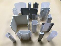 PC/PMMA/PS/PVC/PPO/PE/PP/POM perfiles de inyección de plástico