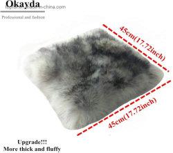 100% 모피 호주 양피 의자 패드