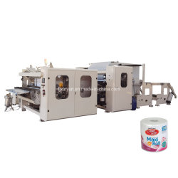 Automatic Maxi rollo papel higiénico toalla de cocina que hace la máquina