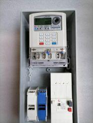 Medidor de energía eléctrica de prepago de verificación