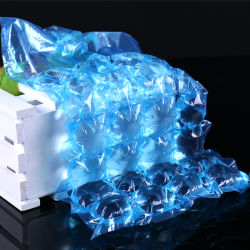 Self-Sealing médicaux jetables sacs LDPE Blue Ice Cube 24 cubes