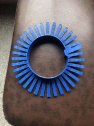 Protección de la brida de 33cm/Item-Protection Rack