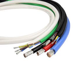 Cable de conexión de calibre 22 duradera Automotive conectar el cable Rango de temperatura de 125c