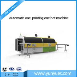 Automatische heiße Aushaumaschine-/Screen-Drucken-Presse für Plastik/Metallflaschen und -glas