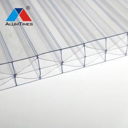 10年の保証のバイヤー温室のための物質的な紫外線保護された対壁の空のポリカーボネートシート