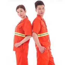 Camici a pioggia in poliestere indumenti da lavoro uomo Abbigliamento ignifugo riflettente uniformi