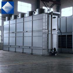 상용 HVAC를 위한 폐쇄형 회로 통합 유동 냉각 타워
