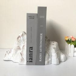 Смола горных Bookend Rockery камень Книга заканчивается интерьера для исследования Управление Для настольных рабочих