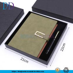 Bloc de notas Bloc de notas de cuero de imitación personalizado + Bolígrafo metálico/2