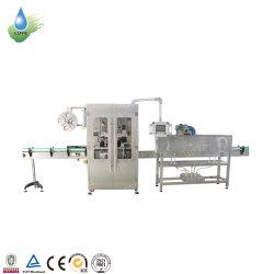 De plastic Etikettering van de Koker van pvc van de Fles krimpt Machine/de Zelfklevende Machine van het Etiket van de Sticker voor de Waterplant van de Fles van het Glas van het Huisdier