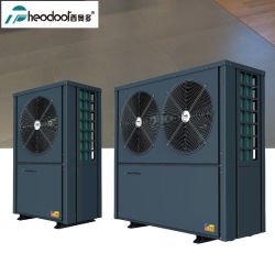 مضخة التسخين Evi لمصدر هواء عالي الكفاءة بدرجة -20 درجة سخان الماء