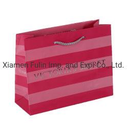 Modèle d'impression de bande de papier personnalisé à l'Emballage Sac de gros de Design de Logo