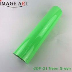[0.525م] كوريّ حرارة إنتقال فينيل /Film/Flex [بفك] لأنّ طباعة [ت-شيرت] [كدب-21] نيون اللون الأخضر