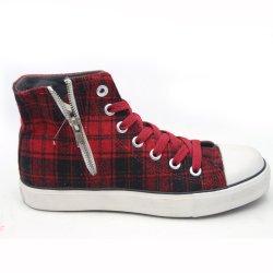 Nouveau modèle de commerce de gros Fashion fille Sneakers Rainbow Outdoor School Sport Athletic bon marché des chaussures de toile blanche occasionnel personnalisé les femmes