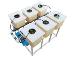 미니 수경성 정원 네덜란드 버킷 시스템 온실 농기계 영농 성장 배지 토포트 온실 토마토 오이 스트로베리 과일은 플라스틱으로 자라습니다 포트