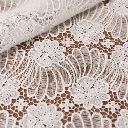 300d белого шелка молока химического цветочный Guipure кружевной ткани оптовая торговля