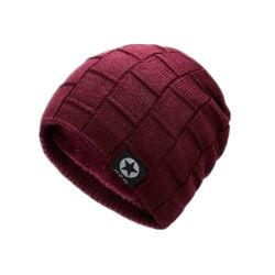 Fashion tricoté 100% acrylique Sport football soccer Beanie chapeaux
