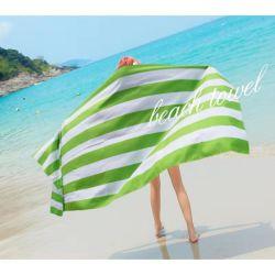 特大写真のLolのカートンのビーチタオル、米国旗の砂の自由なビーチタオル