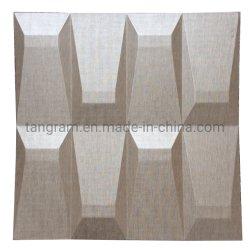 Настенные украшения 3D обои, внутри помещения на стене, звукоизолирующие панели из натуральной кожи