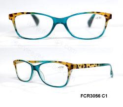 À la mode avec le ressort de la charnière en plastique de lunettes de lecture par la Chine Fabricant Reader