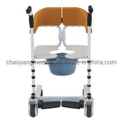 Hospital de enfermería discapacitados en silla de ruedas baño aseo transferencia ajustable cómoda silla