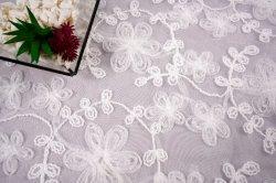 Главная Текстильная одежда Вышивка кружка сетка Специальная лента плоская Вышивка