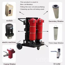 Lyc-63b de inserción de mano portátil nuevo filtro de la Filtración de aceite hidráulico carro carros