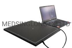 CE ISO 17*17 جهاز كشف اللوحة المسطحة من السيليكون GOS الرقمي نظام تصوير الأشعة السينية للبشريةو Vet Mslfp01