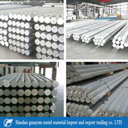 6061 6063 6060 7075 la dureza de la barra de aluminio de alto impacto
