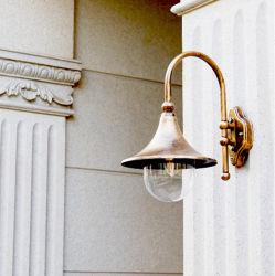 Jardin étanche extérieur rustique Wall Lamp grand haut-parleur Wall Lamp (WH-HR-58)