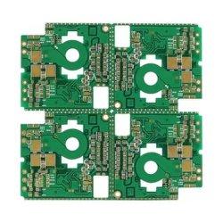 A través de la placa PCB personalizado relleno de impedancia de placa de circuito de control
