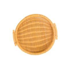 安い日本様式の環境に優しい食糧のための藤によって編まれる記憶のバスケットの柳細工のクラフト