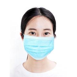 Médicos descartáveis Lace Up String cintas na máscara cirúrgica uso diário com a ISO marcação colorida TUV RELATÓRIO DE ENSAIO
