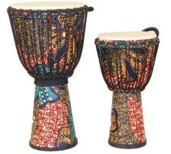 Venda quentes personalizadas vários tambores africanos de madeira