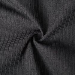 75D à l'aise Two-Component Stripe tissu élastique Slub-Yarn Pattern pour les loisirs enduire