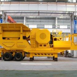 Bergbau Mobile Stein Zerkleinerung Maschine Tragbare Rock Crusher