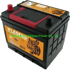 Autobatterieminigeneratorbatterie der JIS55D23 12V60AH Autobatteriebatterien der wartungsfreien Autobatterie japanischen kleine auf VerkaufsAutobatteriesystem