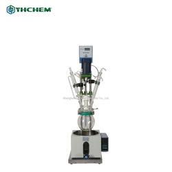 Instrumentos de Laboratorio Científico de vidrio de una sola capa Precio Reactor