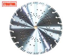 Soudées au laser Découpe à sec les lames de scie de diamants de qualité Premium pour renforcer le béton