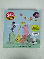 풀 컬러 어린이 도서 시리즈 하드백 북 그레이보드로 인쇄 상자