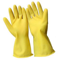 RubberHandschoen van de Keuken van de Handschoen van het Huishouden van het Latex van handschoenen de Rubber Schoonmakende
