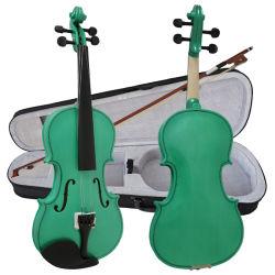 Торговая марка Aiersi зеленый цвет фанера скрипка по вопросам образования музыкальные инструменты для продаж