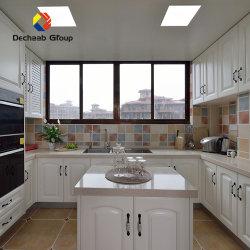 Condições normais de mobiliário de cozinha personalizada de madeira maciça armário de cozinha com preço de fábrica