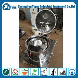 Panier de l'extraction de l'éthanol de l'équipement de traitement par lots Séparateur centrifuge