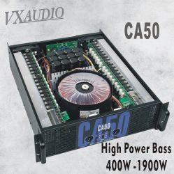 Sistema de Audio Pro fuerte cumplen el requisito 4 ventiladores & Crossover 1650W amplificador de potencia (CA50).