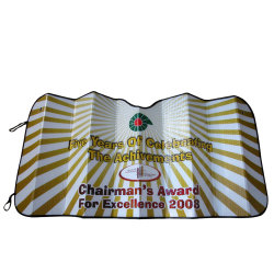 Lustiger Deckel-Schildsun-Masken-Aluminiumfilm-Windschutzscheiben-Fahrzeug-Auto-Sonnenschutz